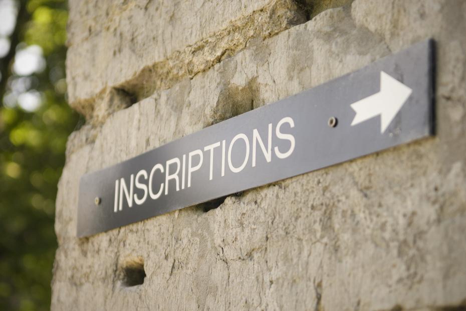 La Galere Des Inscriptions